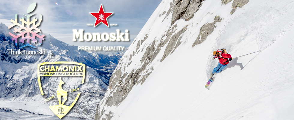Monoskis of high-quality from Chamonix - Snowgunz
