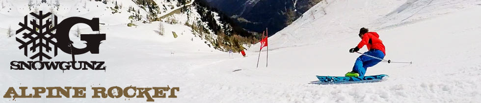 Monoski Slalom Pursuit - Snowgunz